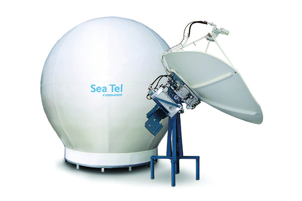 Sea Tel 9711QOR VSAT
