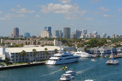 US boating debut for new satcom antennas in Fort Lauderdale