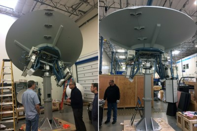 New LEO/MEO Earth Station Antennas Cut Operational Costs