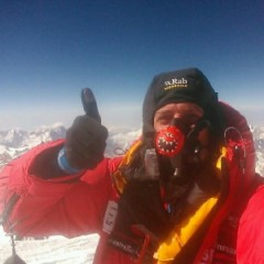 First video call from Everest using Cobham EXPLORER